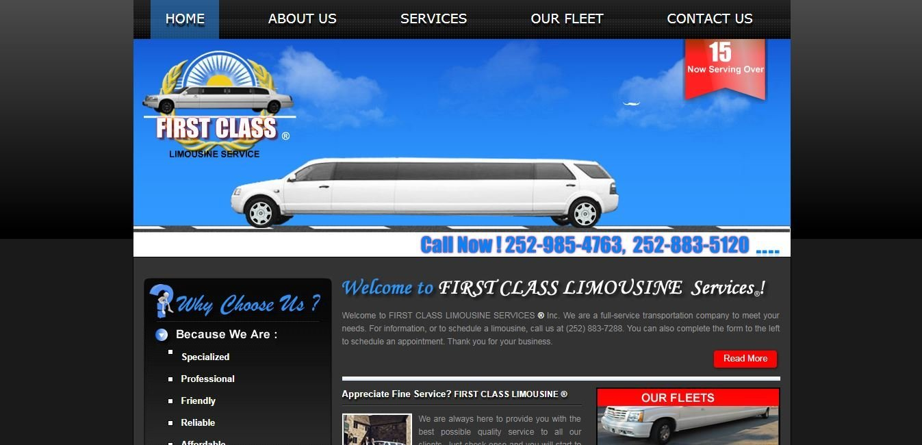 First Class Limousine Services