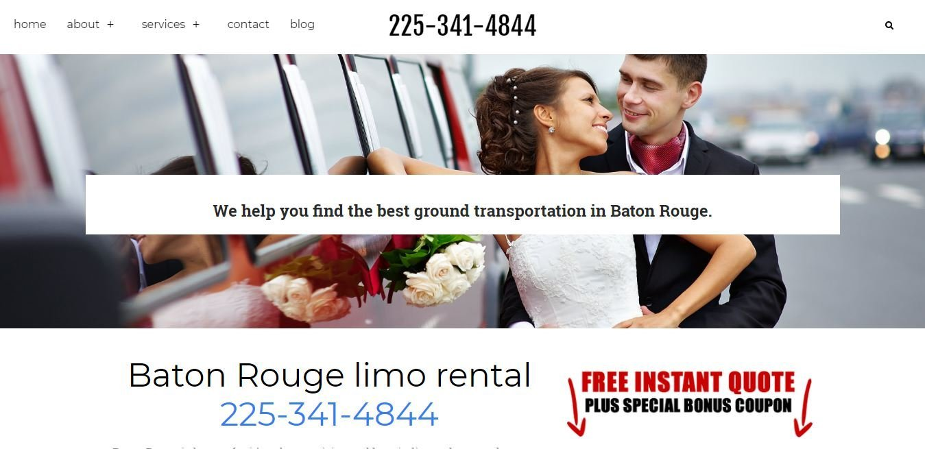 Baton Rouge Limo Rental
