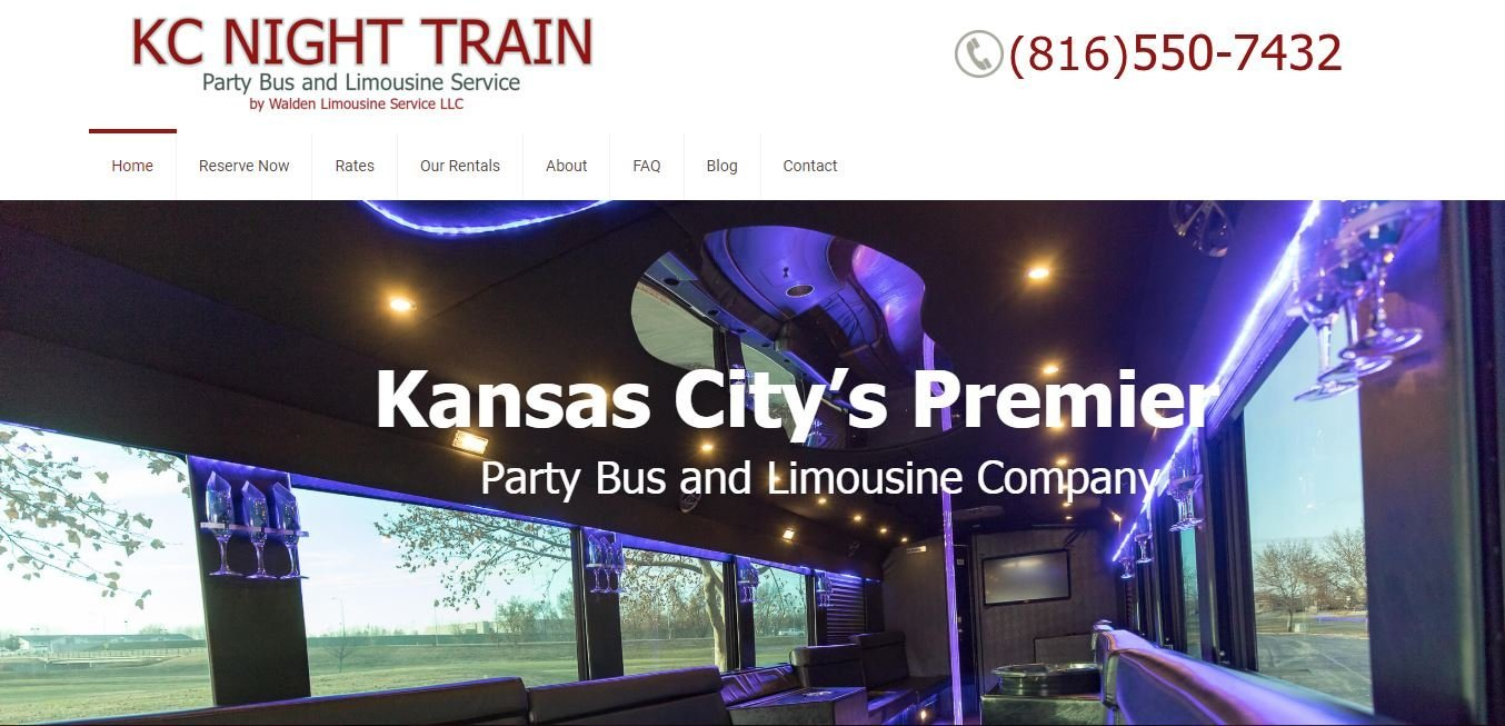 KC Night Train Party Bus and Limousine Service