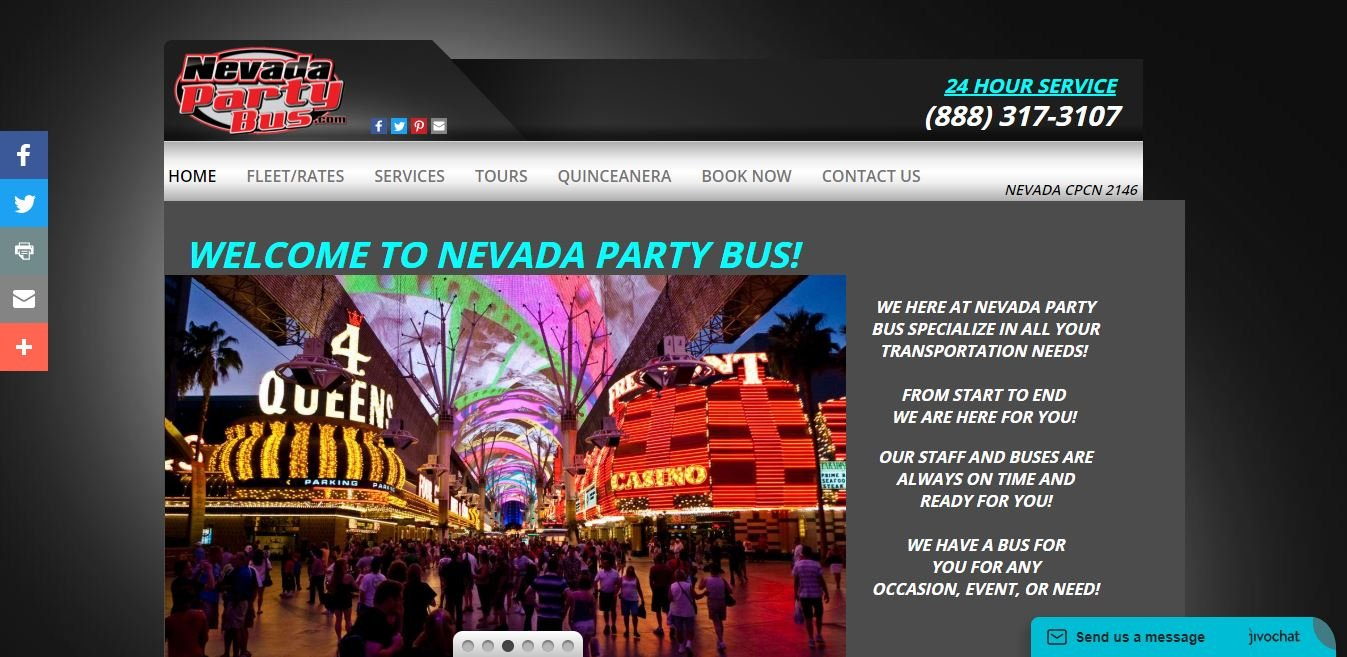Nevada Party Bus