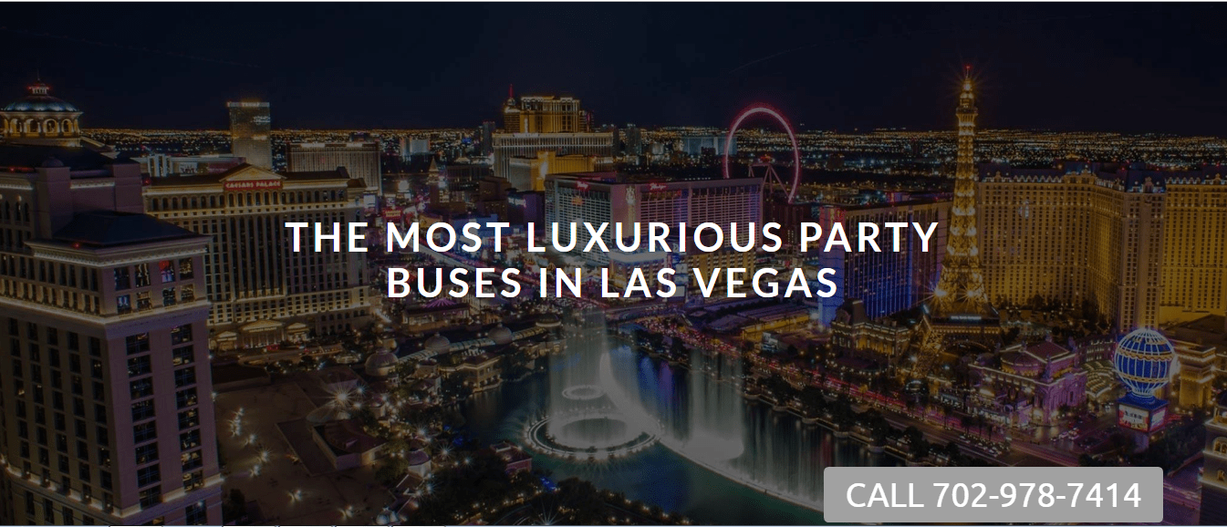 Party Bus Hire Las Vegas 1